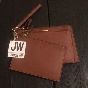 NWT Jason Wu Leather wallet trio